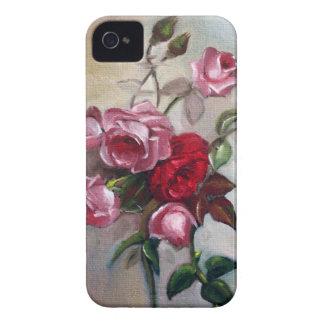 Roses Floral Blackberry Case