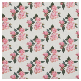 Roses flowers fabric