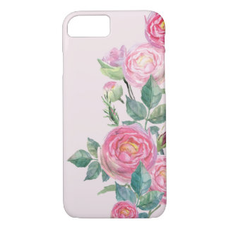 Roses Flowers Floral Summer Design iPhone 7 Case