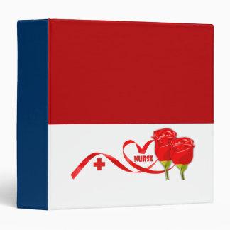 Roses for Nurse. Gift  Nurse Binder