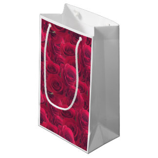 Roses for you small gift bag
