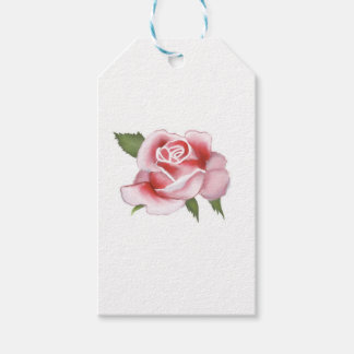 Roses Gift Wrapping Paper Gift Tags