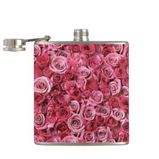 Roses Hip Flask