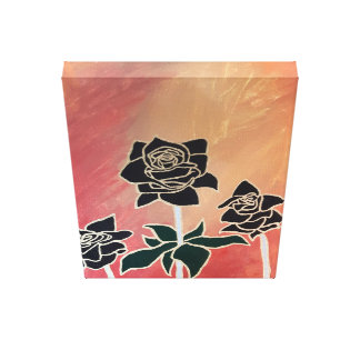 Roses in Autumn Canvas Print