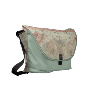 Roses in Picardy French Music Commuter Bag
