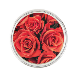 Roses Lapel Pin