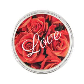Roses Love Lapel Pin