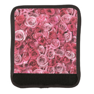 Roses Luggage Handle Wrap
