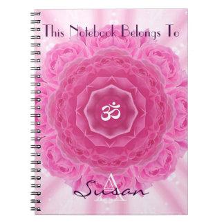 Roses Mandala, Notebook