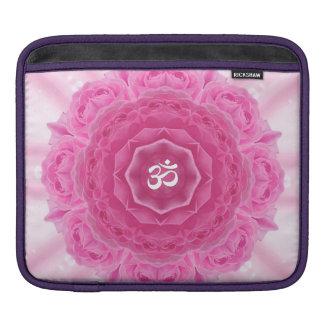 Roses Mandala, Rickshaw Sleeve iPad Sleeve