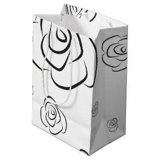 Roses Medium Gift Bag