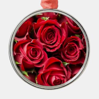 Roses Metal Ornament