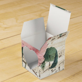 roses musicc favor box