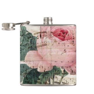 roses musicc hip flask