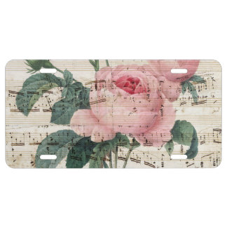 roses musicc license plate