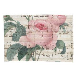 roses musicc pillowcase