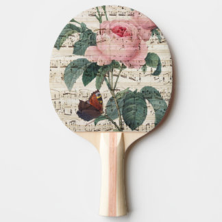 roses musicc ping pong paddle