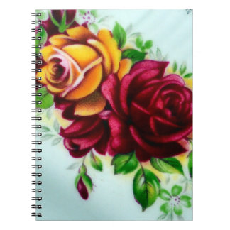 Roses Notebooks