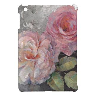 Roses on Gray iPad Mini Cover