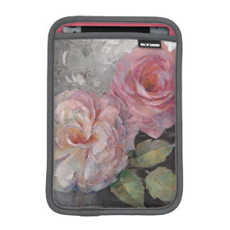 Roses on Gray iPad Mini Sleeves