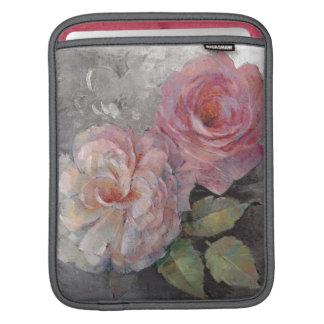 Roses on Gray iPad Sleeve