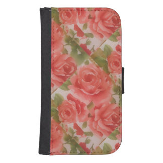 Roses on iPhone 5/5s Wallet Case Galaxy S4 Wallet