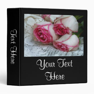 Roses On Lace Binder