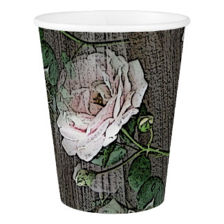 Roses Paper Cup