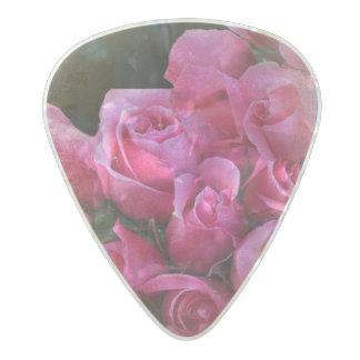 Roses Paris Scene Pearl Celluloid Guitar Pick