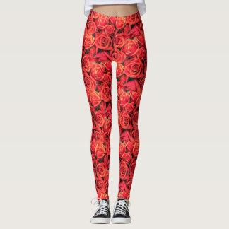 Roses Patterned Leggings