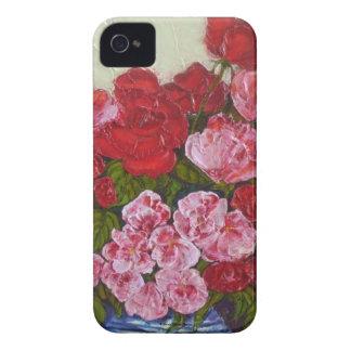 Roses & Peonies Blackberry Case
