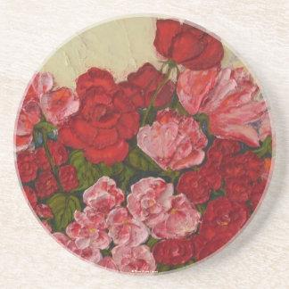 Roses & Peonies Coaster