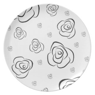 Roses Plate