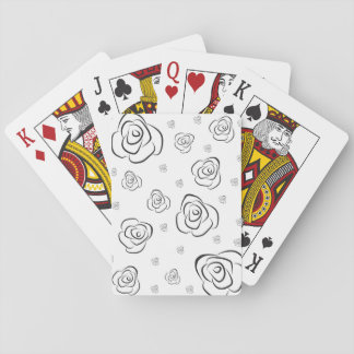 Roses Playing Cards