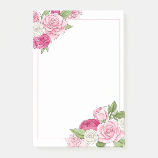Roses Post-it Notes