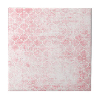Roses Ribbons and Lace Ceramic Tiles