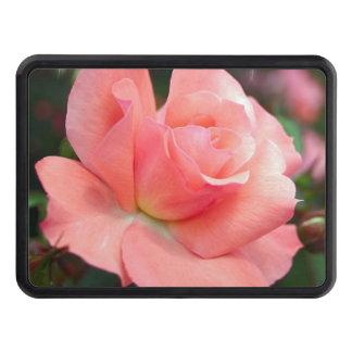 Roses roses couverture d'attelage de remorque