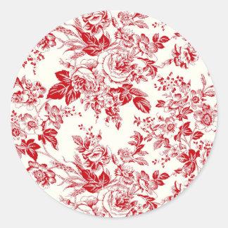 Roses - Round Sticker