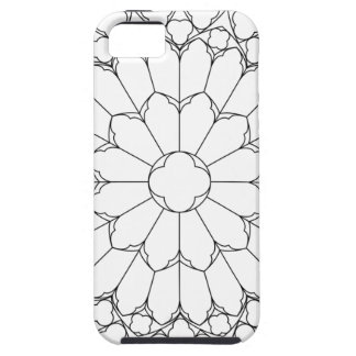 Roses Stained Glass Case For The iPhone 5