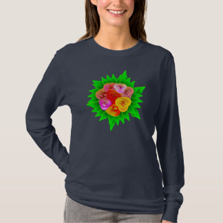 Roses t-shirt theme - traditional Roses Castle art