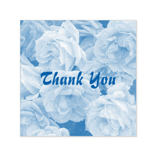 Roses - Thank You Self-inking Stamp