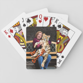 Rose's Tiger Playing Cards, Standard Index faces Playing Cards