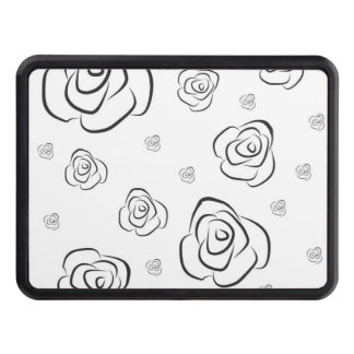 Roses Trailer Hitch Cover