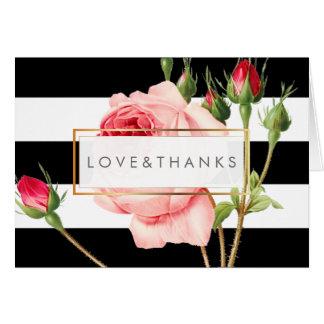 Roses vintages de PixDezines/Redoute/Merci Carte De Correspondance
