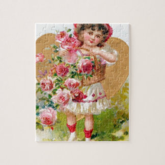 roses with baskets jigsaw puzzle