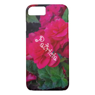 Roses with Custom Name iPhone 8/7 Case