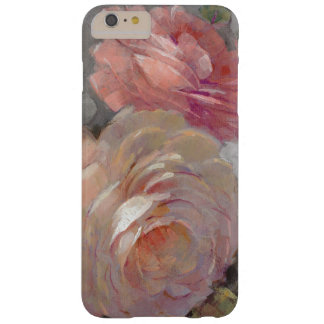 Roses with Gray Barely There iPhone 6 Plus Case
