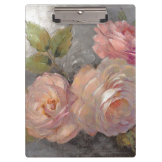 Roses with Gray Clipboard