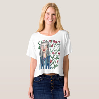 Roses with thorn t-shirt