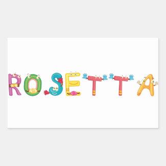 Rosetta Sticker